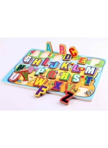 Wooden Toys Puzzle Renkli